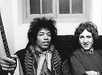 Jimi Hendrix 1967 with Mitch Mitchell
