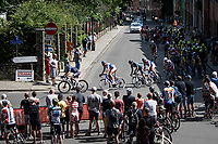up the Wijnpersstraat<br /> <br /> 55th Grote Prijs Jef Scherens - Rondom Leuven 2021 (BEL)<br /> One day race from Leuven to Leuven (190km)<br /> ridden over the final circuit of the 2021 World Championships road races <br /> <br /> ©kramon