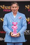Presenter Boris Izaguirre attends SHANGAY PRIDE and MADO Madrid Orgullo presentation and receives the Madrid Orgullo Muestra-T award in Madrid, Spain. July 03, 2013. (ALTERPHOTOS/Victor Blanco)