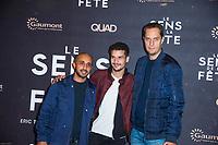 GRAND CORPS MALADE - PREMIERE DU FILM 'SENS DE LA FETE' AU GRAND REX A PARIS, 26 SEPTEMBRE 2017