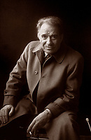 """Ugo Tognazzi è stato un attore, regista, comico e sceneggiatore italiano. È considerato uno dei """"mattatori"""" della commedia all'italiana. Milano. 8 settembre  1985. Photo by Leonardo Cendamo/Gettyimages"""