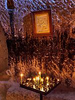 Ikone, Höhlenstadt Wardsia - Vardzia bei Aspindsa, Samzche-Dschawachetien, Georgien, Europa<br /> icon, Cave city Vardzia, near Aspindsa, Samzche-Dschawacheti,  Georgia, Europe