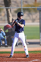 Miles Winter (46), from Bothell, Washington, while playing for the Padres during the Under Armour Baseball Factory Recruiting Classic at Red Mountain Baseball Complex on December 29, 2017 in Mesa, Arizona. (Zachary Lucy/Four Seam Images)