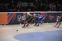 SPEEDSKATING: DORDRECHT: 06-03-2021, ISU World Short Track Speedskating Championships, SF 3000m Relay, (CAN), (RSU), ©photo Martin de Jong