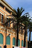 Haus am Hafen in Ajaccio, Korsika, Frankreich