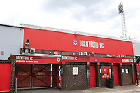 General view of the main entrance to Brentford FC during Brentford vs Charlton Athletic, Sky Bet EFL Championship Football at Griffin Park on 7th July 2020