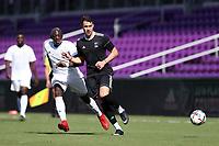 Orlando, Florida - Monday January 15, 2018: Ricky Lopez-Espin and Mamadou Guirassy. Match Day 2 of the 2018 adidas MLS Player Combine was held Orlando City Stadium.