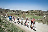 breakaway group <br /> <br /> 15th Strade Bianche 2021<br /> ME (1.UWT)<br /> 1 day race from Siena to Siena (ITA/184km)<br /> <br /> ©kramon