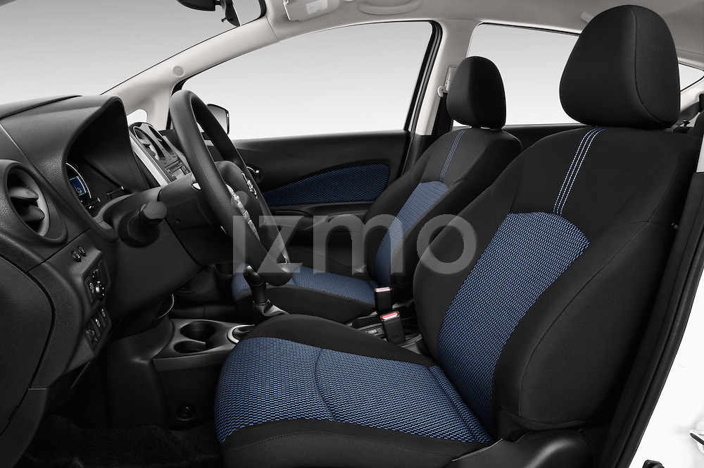 Front seat view of a 2013 Nissan NOTE 5 Door Hatchback 2WD