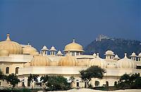 Hotel Udaivilas, Auf Berg Monsoon-Palace, Udaipur (Rajasthan), Indien