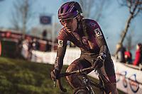 Alicia Franck (BEL/Proximus - Alphamotorhomes - Doltcini)<br /> <br /> Women's Elite Race<br /> Belgian National CX Championships<br /> Meulebeke 2021<br /> <br /> ©kramon