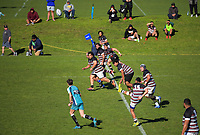 Action from the Auckland Premier Reserves club rugby union match between University and Manukau at Colin Maiden Park in Auckland, New Zealand on Saturday, 25 July 2020. Photo: Dave Lintott / lintottphoto.co.nz