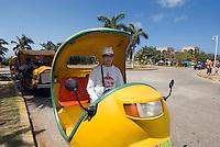 Cuba, Coco-Taxi in Varadero, Provinz Mantanzas