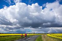 Picture by Alex Whitehead/SWpix.com - 30/04/2016 - Cycling - Tour de Yorkshire, Stage 2: Otley to Doncaster - Yorkshire, England - amateur cyclists.