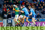 Paul Murphy, Kerry in action against John Small, Dublin during the Allianz Football League Division 1 Round 1 match between Dublin and Kerry at Croke Park on Saturday.