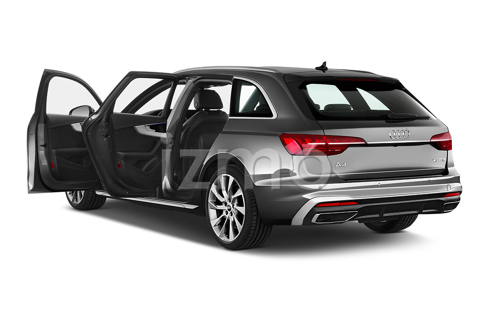 Car images close up view of a 2020 Audi A4 S-Line 5 Door Wagon doors