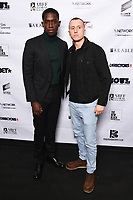 """Damson Idris and Theo Barklem-Biggs<br /> arriving for the """"Farming"""" screening as part of the S.O.U.L. Festival at the BFI Southbank, London<br /> <br /> ©Ash Knotek  D3517 30/08/2019"""