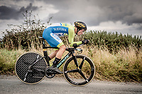 Primoz Roglic (SVK/Jumbo-Visma)<br /> Elite Men Individual Time Trial<br /> from Northhallerton to Harrogate (54km)<br /> <br /> 2019 Road World Championships Yorkshire (GBR)<br /> <br /> ©kramon