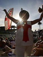 080322 International Test Cricket - New Zealand v England