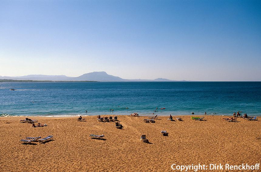 Dominikanische Republik, Playa Libre in Sosua an der Nordküste