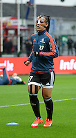 20151007 - LIEGE , BELGIUM : Frankfurt's Peggy Kuznik pictured during the female soccer match between STANDARD Femina de Liege and 1. FFC Frankfurt , in the 1/16 final ( round of 32 ) first leg in the UEFA Women's Champions League 2015 in stade Maurice Dufrasne - Sclessin in Liege. Wednesday 7 October 2015 . PHOTO DAVID CATRY