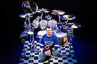 Jeff Carrico drum set promo session