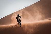 5th January 2021; Dakar Rally stage 3; 11 Svitko Stefan (svk), KTM, Slovnaft Rally Team, Moto, Bike, action during the 3rd stage of the Dakar 2021 between Wadi Al Dawasir and Wadi Al Dawasir, in Saudi Arabia on January 5, 2021
