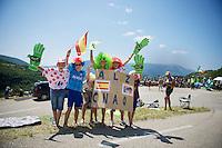 allez allez Contador!<br /> (with Mont Ventoux in the background)<br /> <br /> Tour de France 2013<br /> stage 16: Vaison-la-Romaine to Gap, 168km