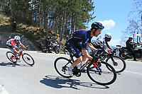 23rd April 2021; Cycling Tour des Alpes Stage 5, Valle del Chiese to Riva del Garda, Italy;  Leonardo Basso Ineos Grenadiers