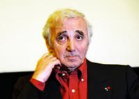 Charles AZNAVOUR<br /> 02/04/2004<br /> 19e Festival Du Film De Paris<br /> Credit : AUDREY MORANT/DALLE
