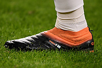 The shoe of Paulo Dybala is seen during the Serie A football match between Juventus FC and Udinese Calcio at Juventus stadium in Torino  (Italy), January, 3rd 2021.  Photo Federico Tardito / Insidefoto