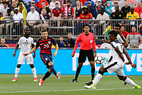 East Hartford, CT - Saturday July 01, 2017: Paul Arriola during an international friendly match between the men's national teams of the United States (USA) and Ghana (GHA) at Pratt & Whitney Stadium at Rentschler Field.