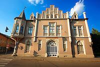 The Black House ( Fekete Ház ) - The Szeged Acadamy Commitee building.