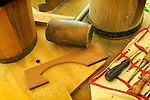 Heritage Days Festival. Union County. Tools of bucket maker.