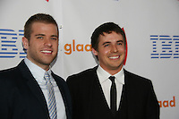 Scott Evans and Brett Claywell at the 21st Annual GLAAD Media Awards on March 13, 2010 at the New York Marriott Marquis, New York City, NY. (Photo by Sue Coflin/Max Photos)