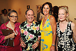 From left: Marlene Picard, Wayne Picard, Heidi Gerger and Alexandra Weems at an art benefit and auction at the Glassell School of Art Friday May 07,2010.  (Dave Rossman Photo)