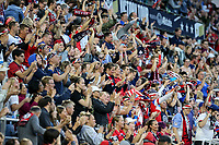 Saint Paul, MN - SEPTEMBER 03: Fans of the United States during their 2019 Victory Tour match versus Portugal at Allianz Field, on September 03, 2019 in Saint Paul, Minnesota.