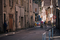 the breakaway group<br /> <br /> 76th Paris-Nice 2018<br /> stage 6: Sisteron > Vence (198km)