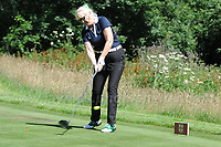 Jennifer Gibney on the course during the Bulmers 2018 Celebrity Cup at the Celtic Manor Resort. Newport, Gwent,  Wales, on Saturday 30th June 2018<br /> <br /> <br /> Jeff Thomas Photography -  www.jaypics.photoshelter.com - <br /> e-mail swansea1001@hotmail.co.uk -<br /> Mob: 07837 386244 -