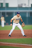 Christopher Berry Jr. (65), from Bossier City, Louisiana, while playing for the Brewers during the Baseball Factory Pirate City Christmas Camp & Tournament on December 30, 2017 at Pirate City in Bradenton, Florida.  (Mike Janes/Four Seam Images)