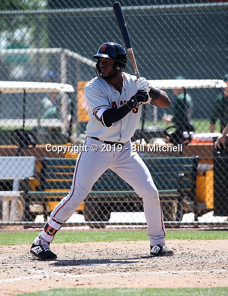 Jean Angomas - San Francisco Giants 2019 spring training (Bill Mitchell)