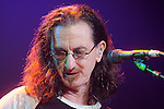 Geddy Lee of Rush performs at the Cynthia Woods Mitchell Pavilion in The Woodlands Saturday Sept. 25, 2010. (Dave Rossman/For the Chronicle)