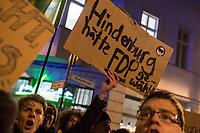 2020/02/05 Politik   Protest gegen FDP-Ministerpräsident