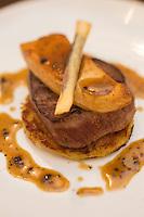 Europe/France/Auvergne/63/Puy de Dome/Clermont-Ferrand:  Tournedos -  Restaurant- Brasserie Bath's,