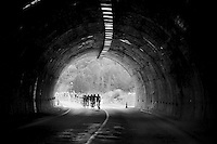 tunnel peloton<br /> <br /> Tour of Turkey 2014<br /> stage 6