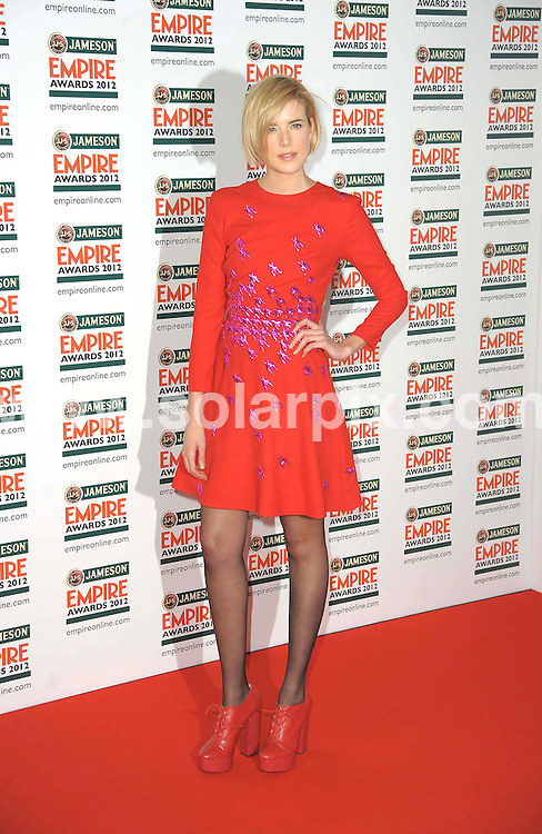 **ALL ROUND PICTURES FROM SOLARPIX.COM**                                             **WORLDWIDE SYNDICATION RIGHTS**                                                                                  Empire Film Awards at the Grovsnor House Hotel in London..This pic:    Agyness Deyn                                          .JOB REF:   14607   MSR       DATE:   26.03.12                                                        **MUST CREDIT SOLARPIX.COM OR DOUBLE FEE WILL BE CHARGED**                                                                      **MUST AGREE FEE BEFORE ONLINE USAGE**                               **CALL US ON: +34 952 811 768 or LOW RATE FROM UK 0844 617 7637**
