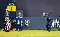 210719 | The 148th Open - Final Round<br /> <br /> BJ Holes of USA hits third from the tee at the 1st during the final round of the 148th Open Championship at Royal Portrush Golf Club, County Antrim, Northern Ireland. Photo by John Dickson - DICKSONDIGITAL