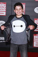HOLLYWOOD, LOS ANGELES, CA, USA - NOVEMBER 04: Jadon Sand arrives at the Los Angeles Premiere Of Disney's 'Big Hero 6' held at the El Capitan Theatre on November 4, 2014 in Hollywood, Los Angeles, California, United States. (Photo by David Acosta/Celebrity Monitor)