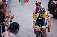 Mark Padun (UKR/Bahrain-Merida)<br /> <br /> MEN UNDER 23 ROAD RACE<br /> Kufstein to Innsbruck: 180 km<br /> <br /> UCI 2018 Road World Championships<br /> Innsbruck - Tirol / Austria