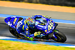 Movistar Yamaha MotoGP's rider Valentino Rossi of Italy rides during the MotoGP Official Test at Chang International Circuit on 16 February 2018, in Buriram, Thailand. Photo by Kaikungwon Duanjumroon / Power Sport Images